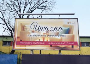 Billboard Uwazna