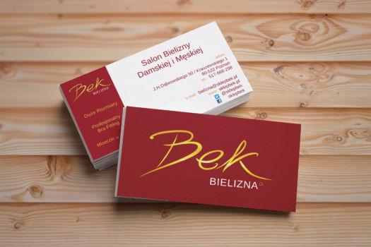 Wizytówka Bek